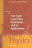 Pdf Few-Cycle Laser Pulse Generation and Its Applications