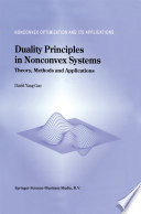 Duality Principles in Nonconvex Systems
