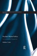 Nuclear Waste Politics