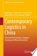 Contemporary Logistics in China Book