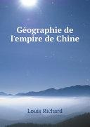 G?ographie de l'empire de Chine