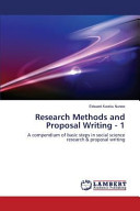 Research Methods and Proposal Writing   1