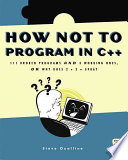 How Not to Program in C++