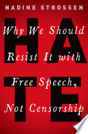 link to Hate : why we should resist it with free speech, not censorship in the TCC library catalog