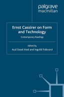 Pdf Ernst Cassirer on Form and Technology Telecharger