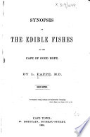 Synopsis Of The Edible Fishes At The Cape Of Good Hope Second Edition