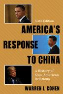 America s Response to China