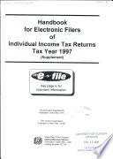 Handbook for Electronic Filers of Individual Income Tax Returns Pdf/ePub eBook