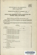 United States Government Master Specification for Stitches, Seams, and Stitching