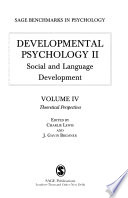Developmental Psychology: Theoretical perspectives