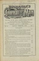 Buchanan s Journal of Man