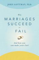 Why Marriages Succeed or Fail Pdf/ePub eBook