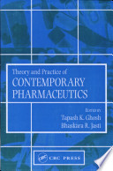 Theory And Practice Of Contemporary Pharmaceutics Book PDF