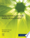 Nanotechnology for Rural Development Book