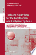 Tools and Algorithms for the Construction and Analysis of Systems Book