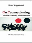 On Communicating