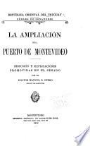 La ampliación del puerto de Montevideo
