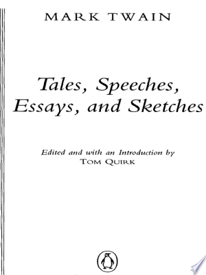 Download Tales, Speeches, Essays, and Sketches Free Books - Dlebooks.net