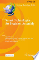 Smart Technologies for Precision Assembly Book