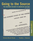 Going to the Source  Volume I  To 1877