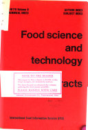 Food Science and Technology Abstracts Book