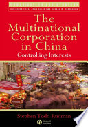 The Multinational Corporation In China Book PDF