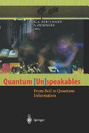 Quantum  Un speakables