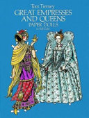 Great Empresses and Queens Paper Dolls in Full Color