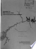 Operation of Glen Canyon Dam, Colorado River Storage Project, Coconcino County