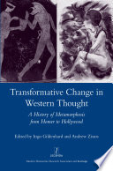 Transformative Change in Western Thought Book