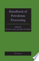 Handbook of Petroleum Processing Book