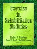 Exercise in Rehabilitation Medicine
