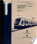 Central Link Light Rail Transit Project  Seattle  Tukwila and Seatac
