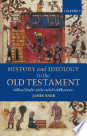 History and Ideology in the Old Testament