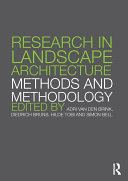 Pdf Research in Landscape Architecture