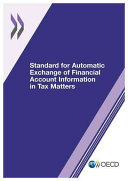 Standard for Automatic Exchange of Financial Account Information in Tax Matters