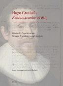 Hugo Grotius   s Remonstrantie of 1615
