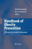 Handbook of Obesity Prevention Pdf/ePub eBook