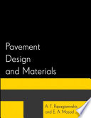 Pavement Design And Materials Book PDF