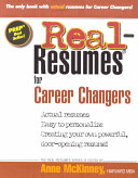 Real-resumes for Career Changers