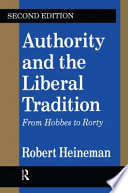 Authority and the Liberal Tradition