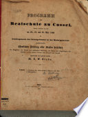 Abhandlung über Johann Balthasar Schuppius ...