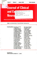 Jounral of clinical and experimental neuropsychology