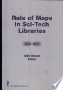 Role Of Maps In Sci Tech Libraries