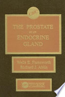 The Prostate As An Endocrine Gland Book PDF