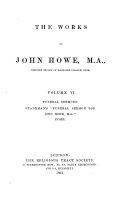 "Funeral sermons; Spademan's ""Funeral sermon for John Howe, M. A.:"" Index"