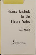 Phonics Handbook for the Primary Grades