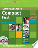 Compact First Student s Book Pack  Student s Book with Answers with CD ROM and Class Audio CDs  2   Book
