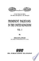 Prominent Pakistanis in the United Kingdom