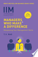 Iima Managers Who Make A Difference Book PDF